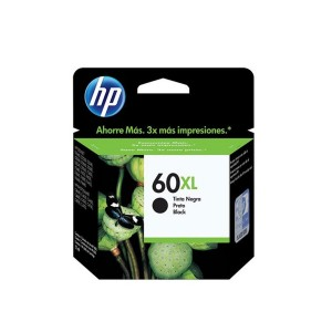 Cartucho de Tinta HP 60XL Preto 12ml | CC641WB | Original