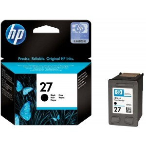 Cartucho de Tinta HP 27 Preto 18ml | PSC1315 1210 2410 | Original