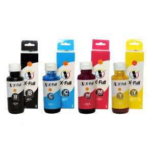 Kit Tinta HP GT51 GT52 Preto Ciano Magenta Yellow | Deskjet GT 5810 5820 5822 | X-Full Ultra