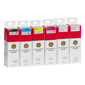 Kit Tinta para Epson Corante x6 70ml | L800 L801 L805 L810 L850 L1800 | Superior Quality Ink