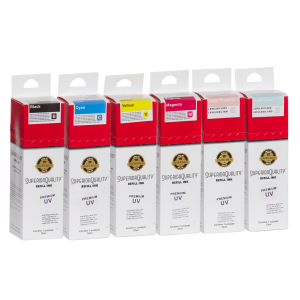 Kit Tinta para Epson Corante x6 70ml UV | L800 L801 L805 L810 L850 L1800 | Superior Quality Ink